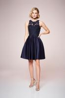 Luminous Satin Dress