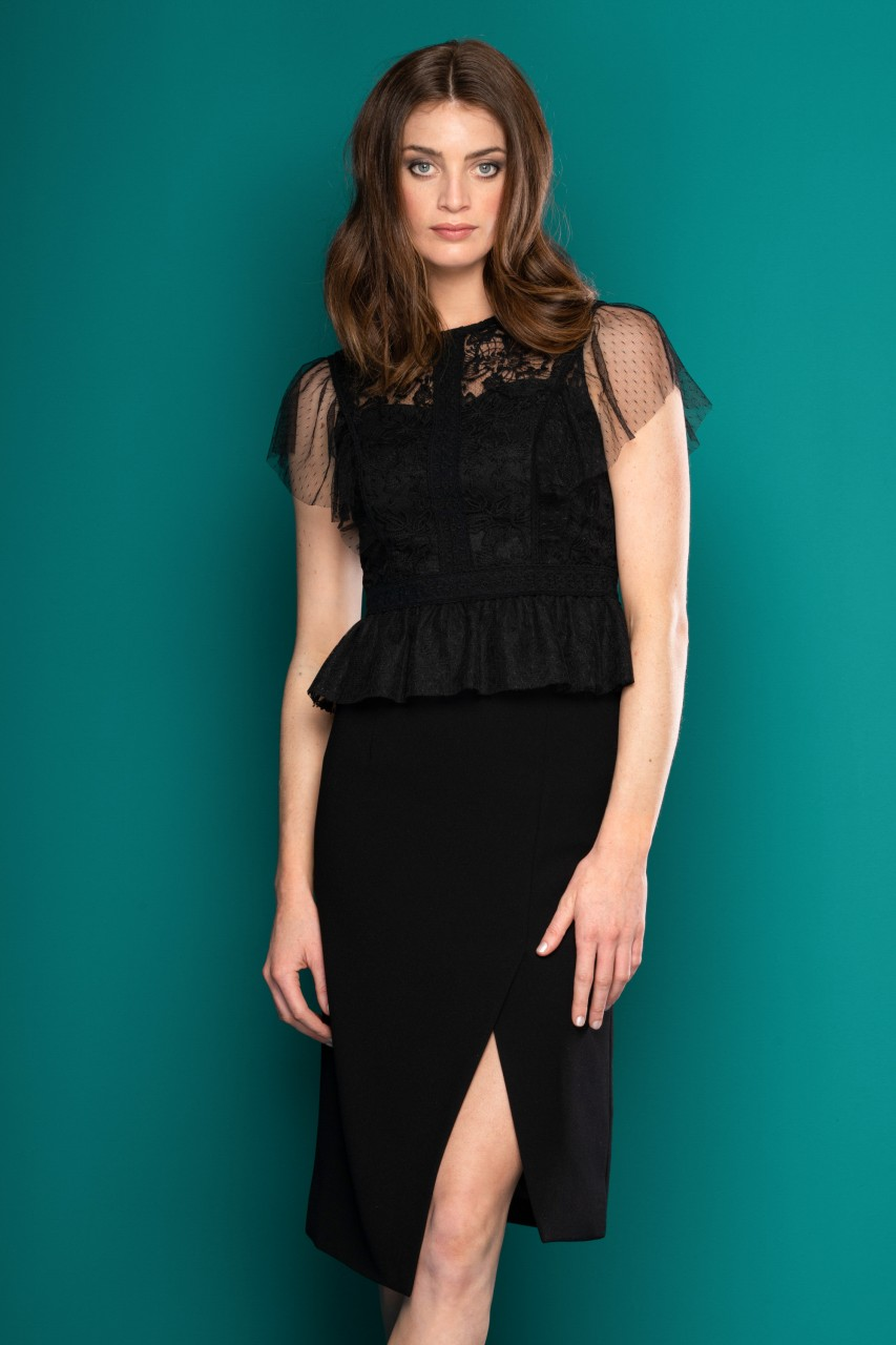 LUXE LACE BLOUSE