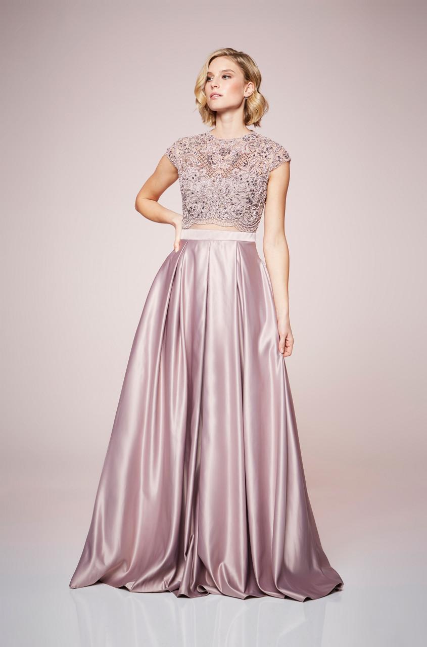 Silky Satin Dress