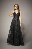 BLACK BLOSSOM DRESS