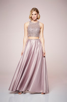 Sparkling Two-Piece Gown