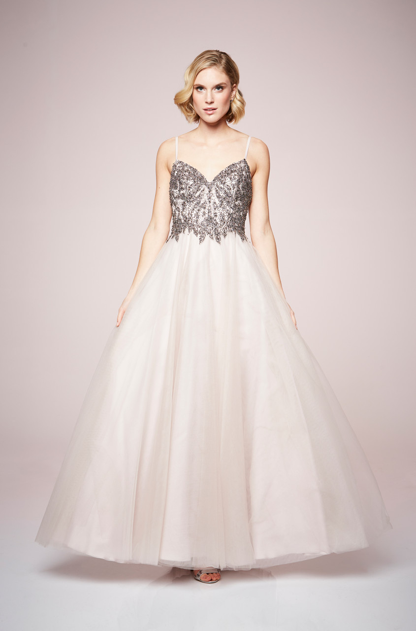 Silver Sheen Dress