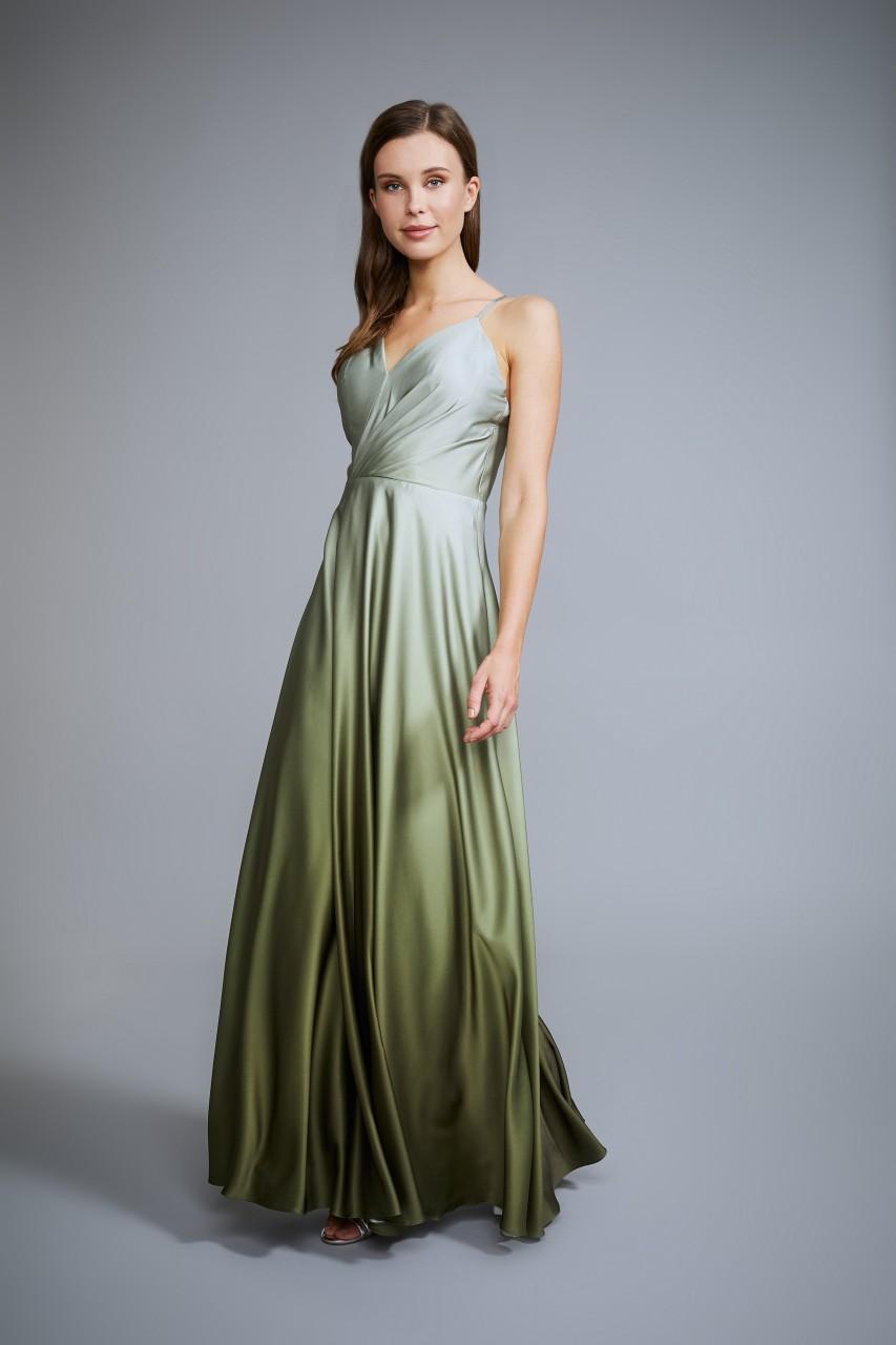 SHINY SATIN DRESS