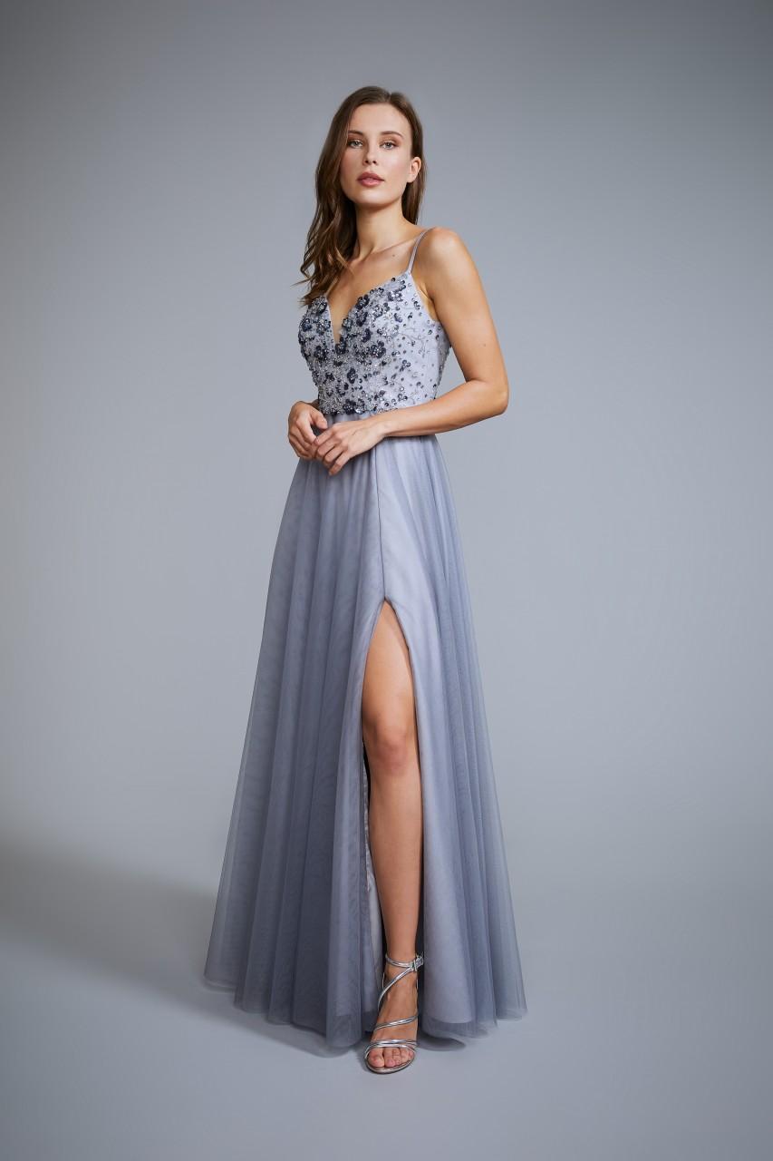 STEEL BLUE DRESS
